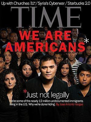 We are Americans Time Magazine