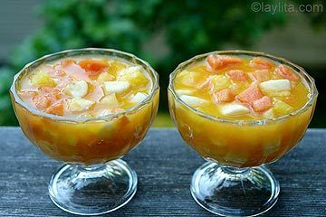 Hispanic heritage month ecuadorian fruit salad recipe qu ms ecuador recently had their independence day celebration and in honor of hispanic heritage month im exploring a recipe that i hadnt before a dessert forumfinder Gallery