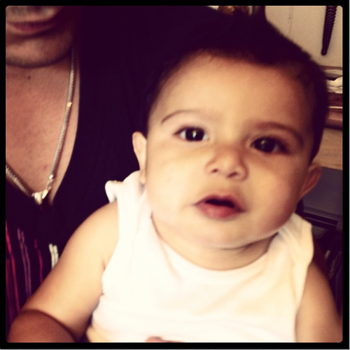 snookis baby lorenzo gets a haircut other firsts for
