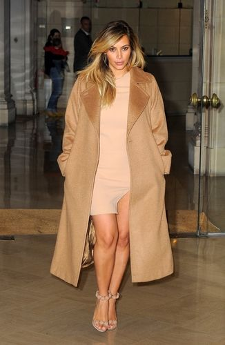 Copy Kim Kardashian S Camel Coat With These 6 Affordable