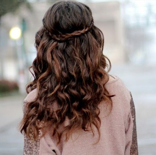 Curly Qs: What are some cute braided hairstyles that work for curly ...