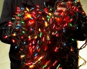 4,000 Christmas lights used to decorate this man's house but to heat ...