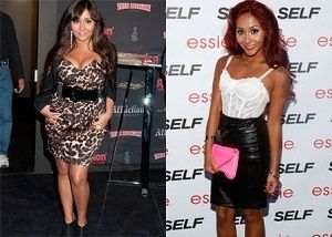 Snooki gets back into shape after pregnancy