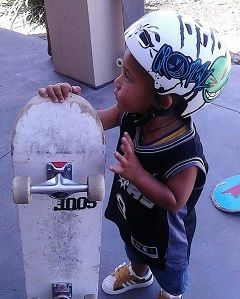 youngest skater in the world