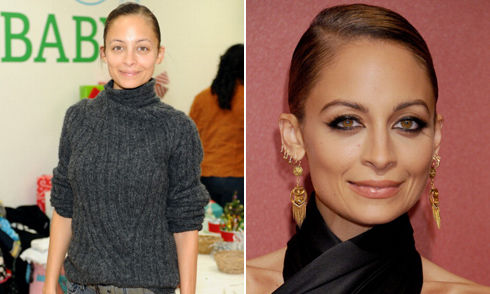 nicole richie eyebrows