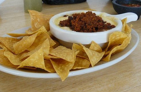 queso with chorizo