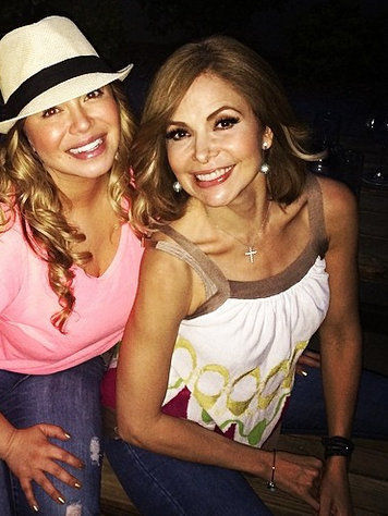 Chiquis Marin & Gloria Trevi planning a very special surprise
