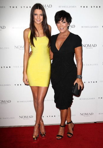 kendall jenner and kris jenner
