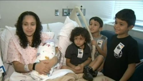 Latina mom gives birth in school nurse's office while