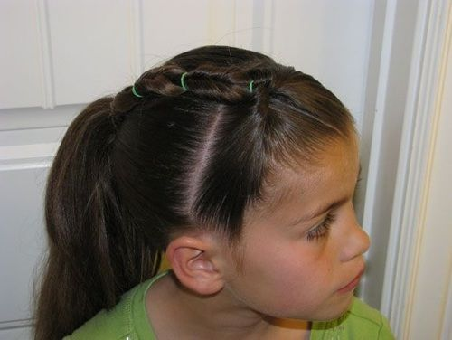 Creative Backtoschool Hairstyles For Your Little Girl - Hairstyle for girl to school