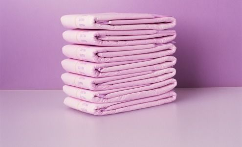 Incontinence, pads