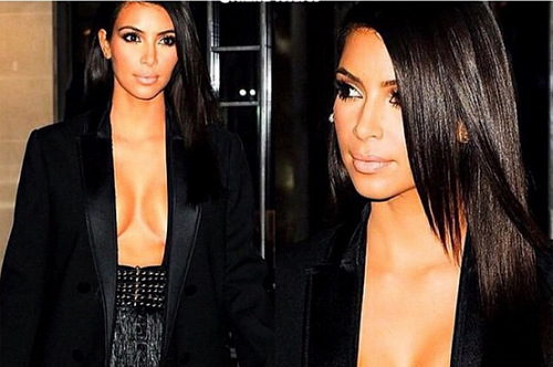 Sexiest Kim Kardashian pictures including nudes