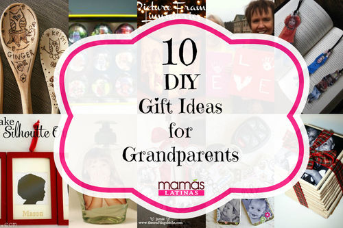 10 DIY Gift Ideas for Grandparents