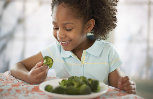 getting kids to eat real food