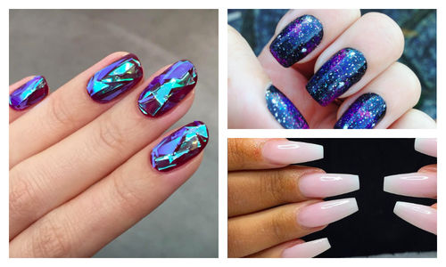Nails Art: Glass Shattered Nails + 9 Other Cool Nail Trends You Need