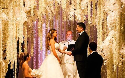 Sofia vergara wedding