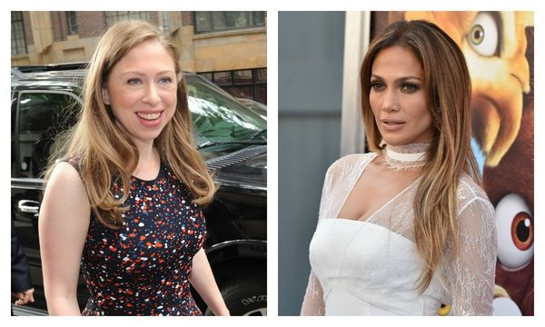 jlo and chelsea clinton