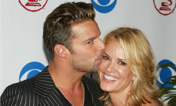 rebecca de alba and ricky martin relationship