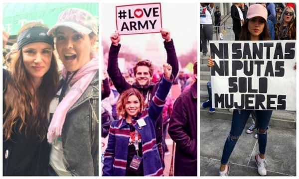 famous latinas in womens march