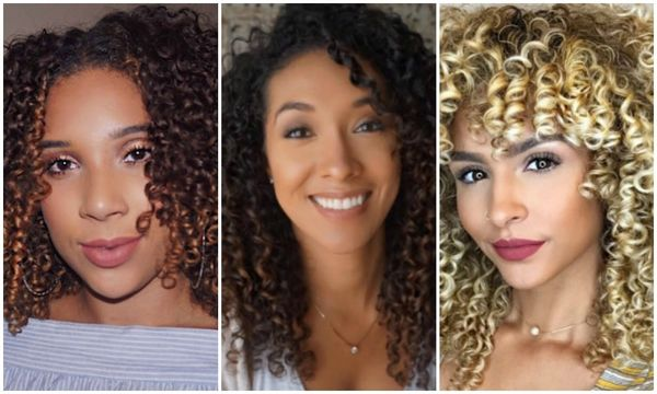 Latina curly hair influencers