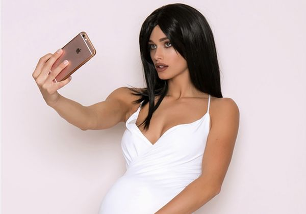 pregnant kylie jenner costume
