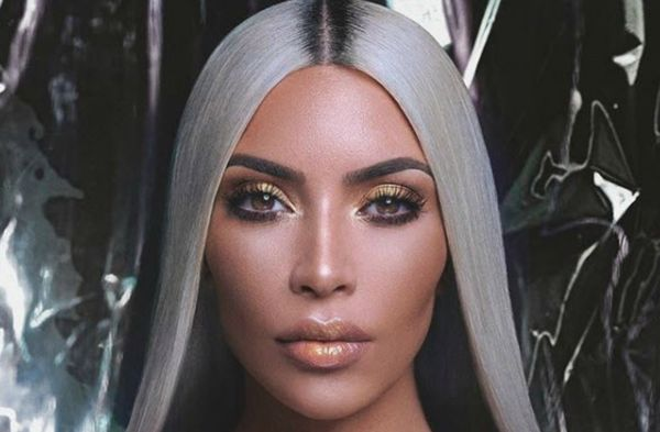 Kim Kardashian poses nude in glitter again for KKW Beauty ad campaign