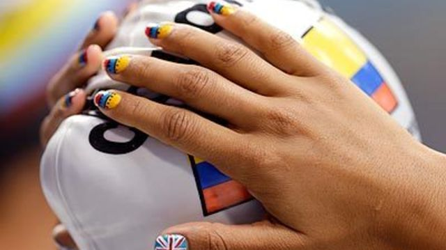 Join In On The Olympic Celebration With This Super Cool Nail Art Photos Mamáslatinas