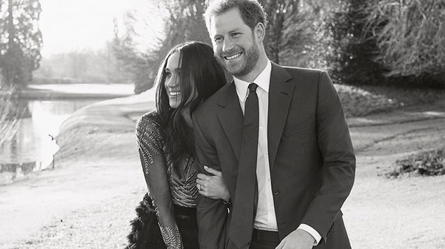 The Gown Meghan Markle Wore For Her Official Engagement Photos Costs