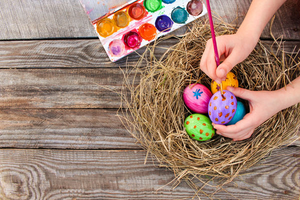 21 easy easter crafts your kids will love mam slatinas How much to build a craftsman style home