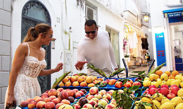 Jennifer lopez and alex rodriguez vacation