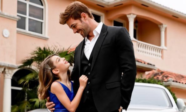 William Levy and daughter