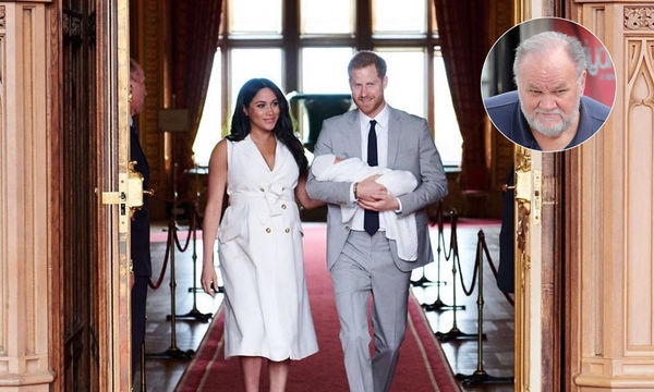 Meghan Markle, Prince Harry, Archie, Thomas Markle