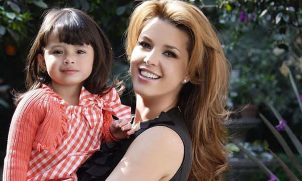 Alicia Machado y su hija Dinorah