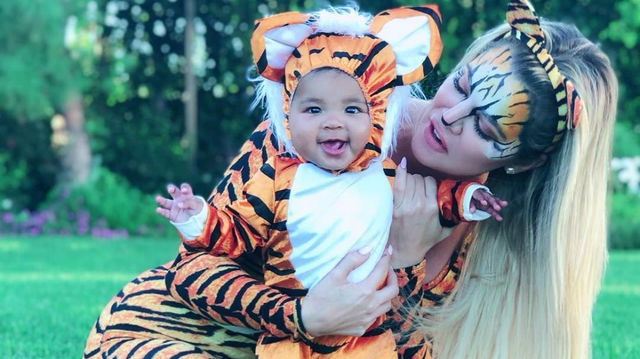 ad1859b42328 Khloé Kardashian s baby True dressed up as the cutest animals for ...