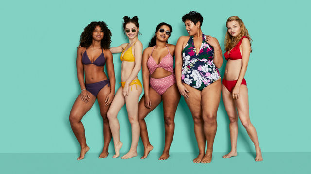e341d2332813e The cutest looks from Target s new inclusive swimwear line Kona Sol ...